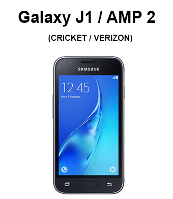 Galaxy J1(2016) / Galaxy Amp 2 (Verizon Wireless, Cricket)