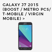 Galaxy J7 2015 (Boost Mobile/Metro PCS/T-Mobile/Virgin Mobile)