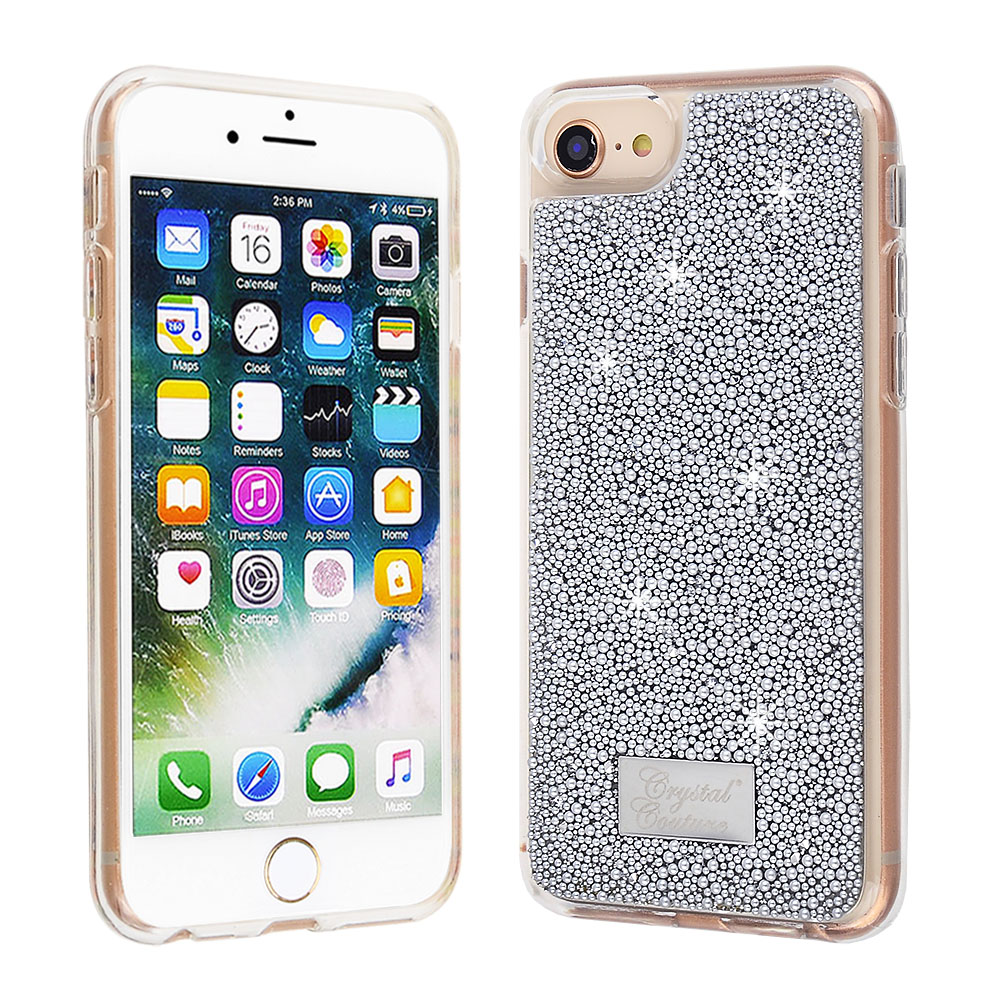 41a8cc0268 Apple iPhone 8 / iPhone 7 / iPhone 6s / iPhone 6 - Silver Beaded ...