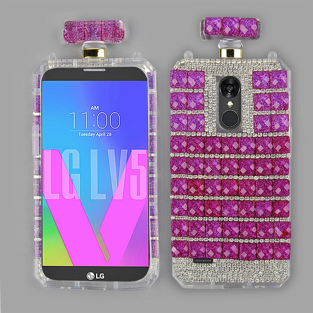 best website f8ed5 4700f LG LV5/ LG K20 Plus/ LG Harmony - Premium Clear TPU Perfume Bottle ...