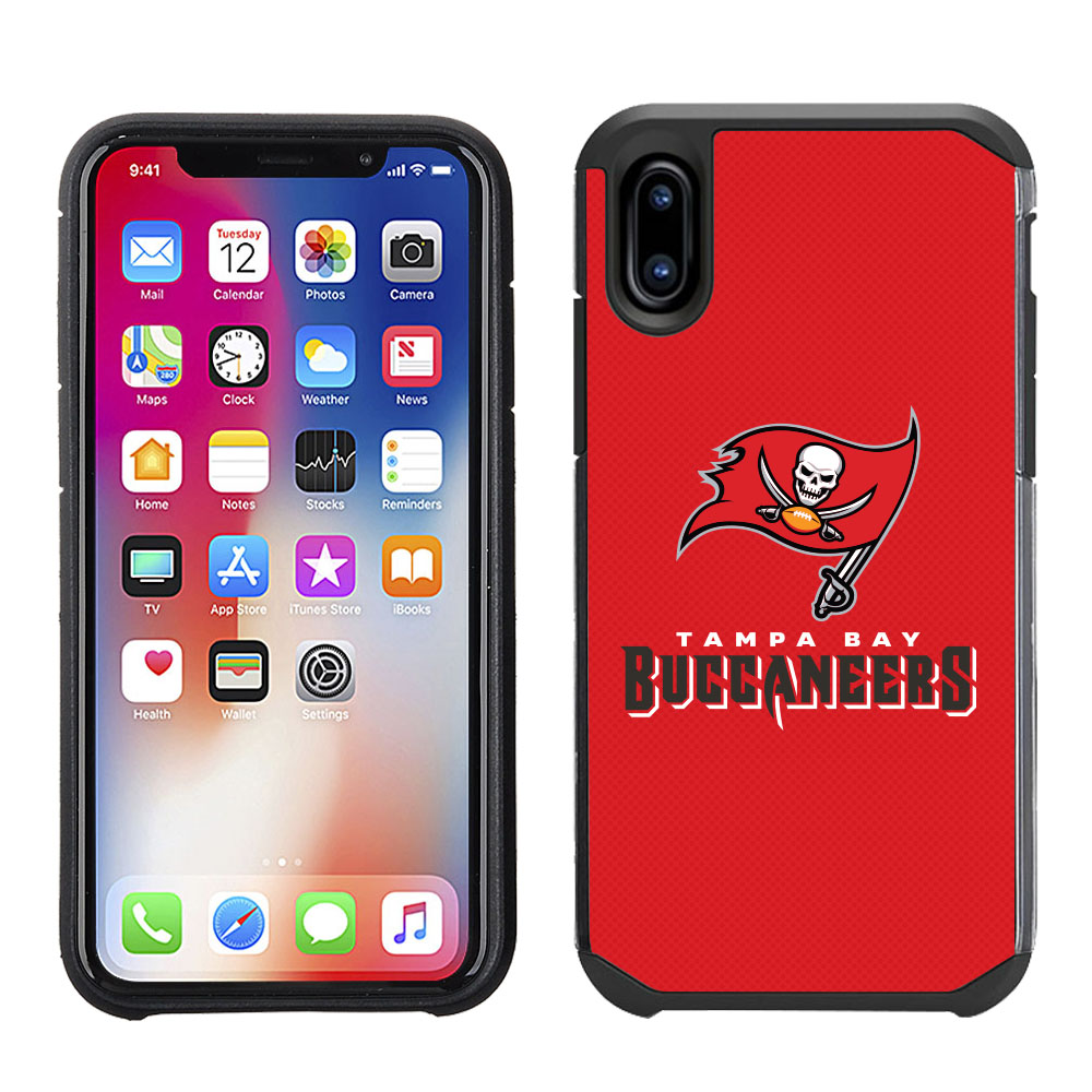 660e36d9e895d Apple IPhone X / Xs - NFL Licensed Tampa Bay Buccaneers Red ...