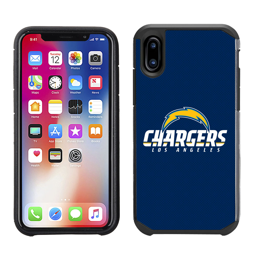 Apple IPhone X Xs NFL Licensed Los Angeles Chargers Blue