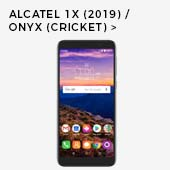 Alcatel 1x (2019) / Onyx (Cricket)