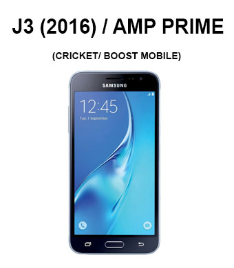 Galaxy J3(2016) / Galaxy Amp Prime (Cricket/ Boost Mobile/ Virgin Mobile)