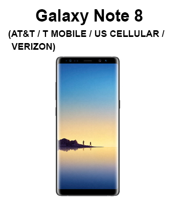 Galaxy Note 8 (T-Mobile, Verizon, AT&T, Sprint, US Cellular)
