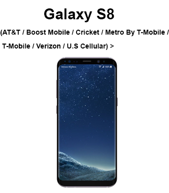 Galaxy S8 (AT&T / Boost Mobile / Sprint / U.S. Cellular / Verizon)