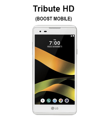 Tribute HD (Boost Mobile, Sprint Mobile, Virgin)