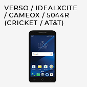 Verso / IdealXCITE / CAMEOX / 5044R (Cricket / AT&T)